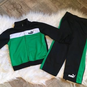 Puma track suit toddler size 2